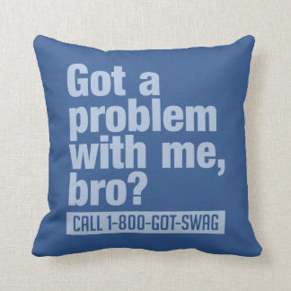 SWAG custom throw pillow