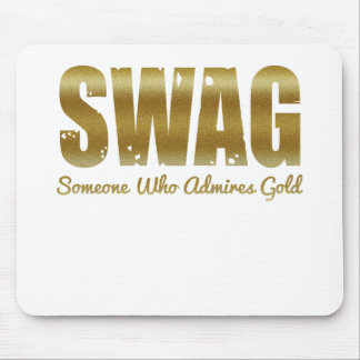 SWAG-GOLDS MOUSE PAD