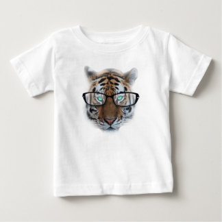 Swag Hipster Tiger Baby T-Shirt