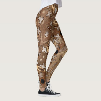 Swag, On Fire Brown & Black Cooper +  Urban Vibe Leggings