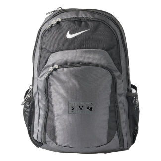 SWAg Periodic Table Element Word Chemistry Symbol Backpack