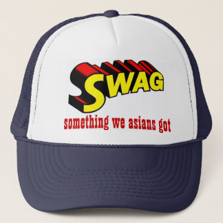 SWAG:  something we asians got Trucker Hat