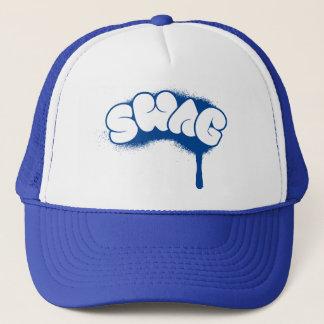 Swag Tag (Blue) Trucker Hat