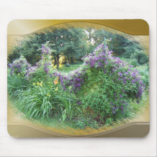 Swaged Clematis ~ mousepad