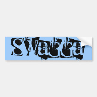 Swagga bumper sticker