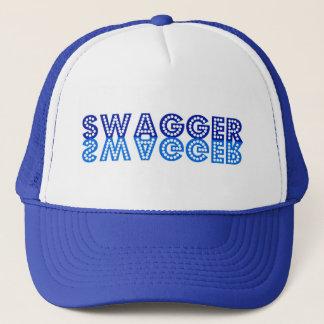 Swagger in Blue Trucker Hat