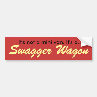 Swagger Wagon Bumper Sticker