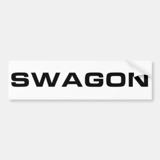 Swagon Bumper Sticker