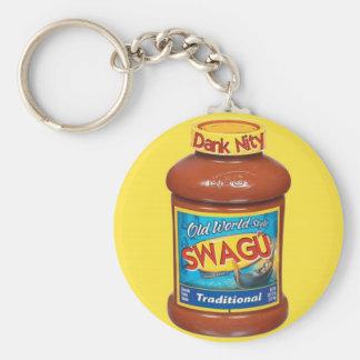 Swagu-Cover Basic Round Button Keychain