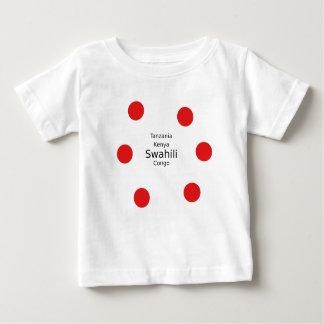 Swahili Language (Kenya, Tanzania, And The Congo) Baby T-Shirt