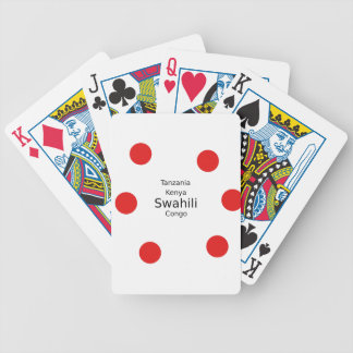 Swahili Language (Kenya, Tanzania, And The Congo) Bicycle Playing Cards