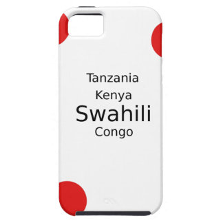 Swahili Language (Kenya, Tanzania, And The Congo) Case For The iPhone 5