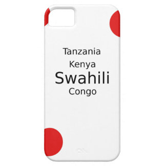 Swahili Language (Kenya, Tanzania, And The Congo) iPhone 5 Covers