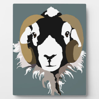 Swaledale Sheep Plaque