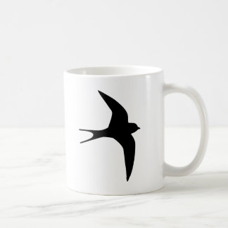 Swallow bird coffee mug