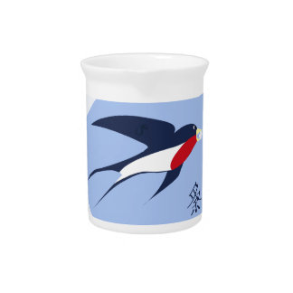 swallow drink pitcher