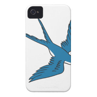 Swallow Flying Down Drawing Case-Mate iPhone 4 Case