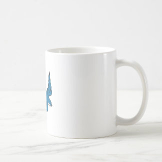 Swallow Flying Down Drawing Coffee Mug