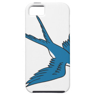 Swallow Flying Down Drawing iPhone 5 Cover