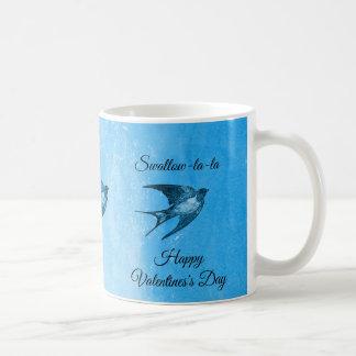 Swallow la-la naughty Valentine's Day Coffee Mug