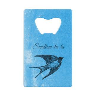 Swallow la-la naughty Valentine's Day Wallet Bottle Opener
