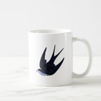 swallow paper cut (free) coffee mug