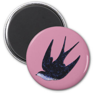 swallow paper cut (free) magnet
