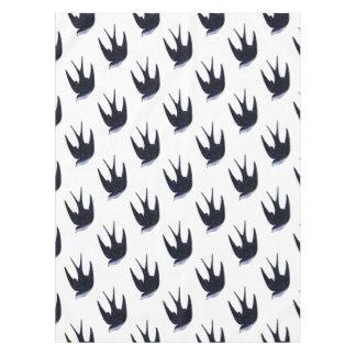 swallow paper cut (free) tablecloth