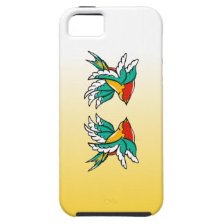 Swallow sailor tattoo inspired design iPhone 5 case