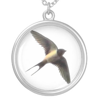 Swallow Silver Plated Necklace