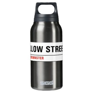 Swallow Street, London Street Sign Insulated Water Bottle