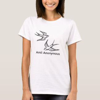Swallows, Amii Anonymous T-Shirt
