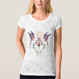 Swallows and sun T-shirt