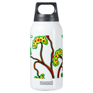 Swallows and the apple tree insulated water bottle