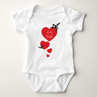 Swallows Baby Bodysuit