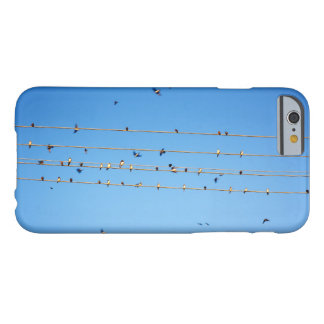 Swallows on wire barely there iPhone 6 case
