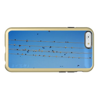 Swallows on wire incipio feather® shine iPhone 6 case