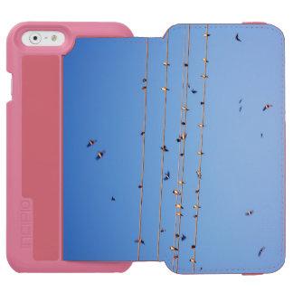 Swallows on wire incipio watson™ iPhone 6 wallet case