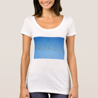 Swallows on wire T-Shirt