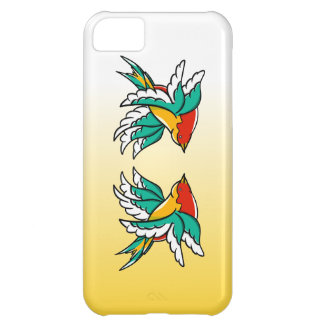 Swallows With Six Wings Funny Illustration Cover For iPhone 5C