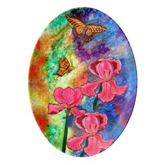 Swallowtail Attraction (Portrait) Serving Platter