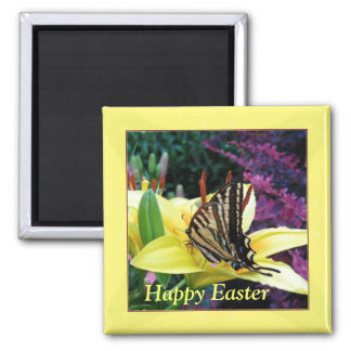Swallowtail Butterfly Easter Magnet