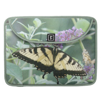 Swallowtail Butterfly Flowers Floral Wildlife MacBook Pro Sleeves