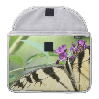 Swallowtail Butterfly Flowers Floral Wildlife Sleeve For MacBooks