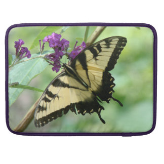 Swallowtail Butterfly Flowers Floral Wildlife Sleeves For MacBook Pro