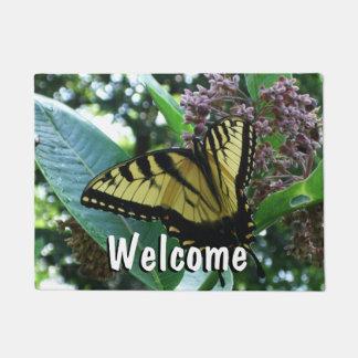 Swallowtail Butterfly I on Milkweed at Shenandoah Doormat