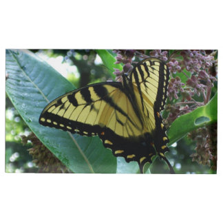 Swallowtail Butterfly I on Milkweed at Shenandoah Table Card Holders