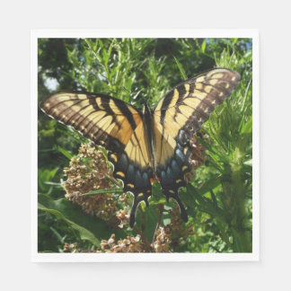 Swallowtail Butterfly III Beautiful Colorful Photo Disposable Napkins