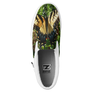 Swallowtail Butterfly III Beautiful Colorful Photo Slip-On Sneakers