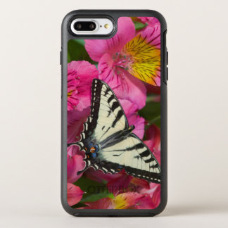 Swallowtail Butterfly on pink OtterBox Symmetry iPhone 8 Plus/7 Plus Case